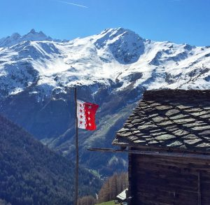 Flag in Switzerland